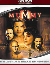 The Mummy Returns HD-DVD, 2007 Brendan Fraser The Rock Rachel Weisz NEW Sealed