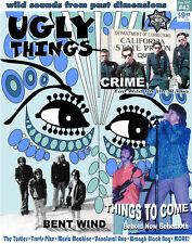 UGLY THINGS Magazine #43 Garage, Punk, Psych, Box Tops, Crime, Turtles, Groovies