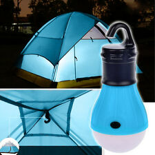2x LED Light Outdoor Hanging Camping Tent Light Bulb, Fishing Lantern Lamp