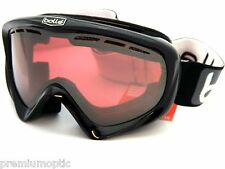 BOLLE over glasses Y6 OTG Ski Snow Goggles Black / Vermillon Gun Mirror 20492