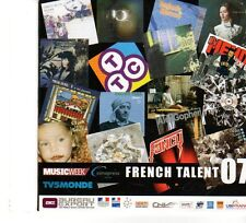 (FP934) French Talent 07, 17 tracks various artists - 2007 Music Week CD