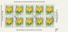 Finland 1993 Used - Yellow Iris - Dragonfly Cancel - First Day Cancel