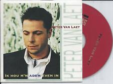 PETER VAN LAET - Ik hou m'n adem even in CD SINGLE 2TR 1996 (MAMA'S JASJE)