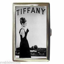 AUDREY HEPBURN BREAKFAST AT TIFFANY'S 8 Cigarette Money Case ID Holder or Wallet
