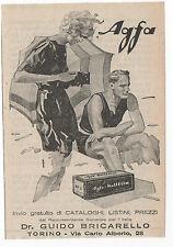 Pubblicità vintage AGFA PELLICOLE FOTO PHOTO advert werbung publicitè reklame