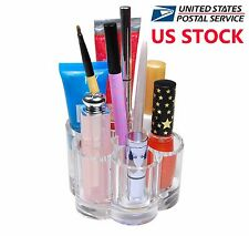 Flower Acrylic Plastic Cosmetic Organizer Makeup Brushes Holder US Stock - Sale!