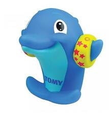 Tomy E72359 Dolphin Water Whistler Great Bath Time Toy for Youngsters - Blue