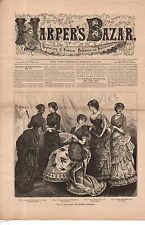 1883 Harpers Bazar January 13 - Frou Frou and Cashmere evening dresses; Winter