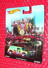 Hot Wheels The Beatles '67 AUSTIN MINI VAN DWH31-4B10 real riders SGT. PEPPERS