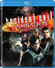 Resident Evil: Damnation  [Includes Digital Copy] (2012, Blu-ray NEW) BLU-RAY/WS