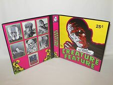 Custom Made Creature Feature Trading Card Binder Graphics Only