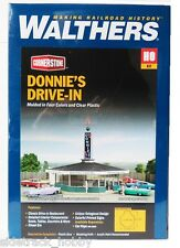 HO Scale Walthers Cornerstone 933-3474 Donnie's Drive-In Building Kit