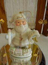 Darling Lenox Ivory Fine China 2004 Santa's Express Ornament~Special List