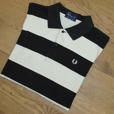 MENS VTG FRED PERRY POLO PIQUE SHIRT RETRO INDIE MOD BRITPOP CASUALS XXL