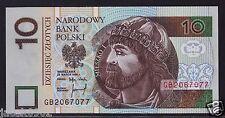10 ZL - zloty/złotych - POLAND/POLEN/POLSKA-1994 - P-173a-UNC