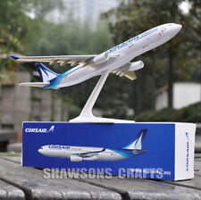 AIRCRAFT MODELS 1:200 PLANE AIRBUS A330-300 CORSAIR AIRLINER REPLICA