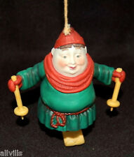 STANISLAV THE SKIER #9397-7 DEPT 56 - RETIRED MERRY MAKERS HARD TO FIND