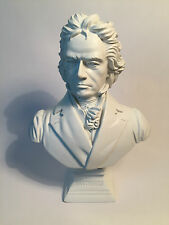 Buste du compositeur Ludwig van Beethoven / musique classique / blanc