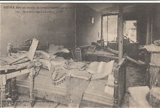 CPA GUERRE 14-18 WW1 REIMS 112 intérieur rue courmeaux