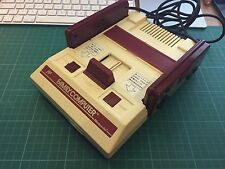 Nintendo Famicom console (Japanese JPN NES) composite AV modded for UK TVs