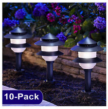 10-PACK Moonrays 95534 Landscape Tier Yard Lights Kit Low Voltage w/ controller
