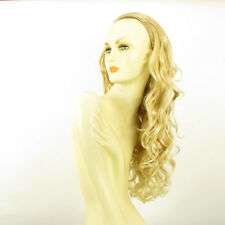 DT Half wig HairPiece golden blond poly mesh very light blond 25.6 :15/24bt613