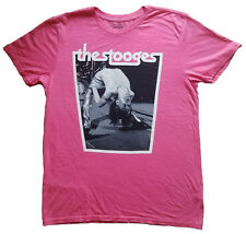 Archive Men's Iggy And The Stooges Vintage Graphic T-Shirt Pink M
