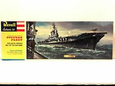 Rare Revell Authentic Kit USS Midway Giant Carrier Plastic Model Kit H-373:300
