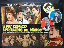 FOTOBUSTA CINEMA - IL PIÙ COMICO SPETTACOLO DEL MONDO - TOTÒ-1953- COMMEDIA - 08