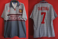 Maillot Vintage Manchester United Eric Cantona n° 7 Sharp Viewcam - XL