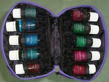 ESSENTIAL OIL TRAVEL CASE PURPLE for 10 BOTTLES 5 TO 15ml