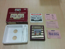 Rare CGL Version!! NINTENDO 1983 GAME AND WATCH - MARIO BROS!! Boxed+Papers!