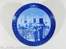 Royal Copenhagen Porzellan Teller ° Wandteller WEIHNACHTEN 1988