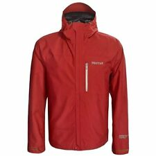 Marmot Optima GoreTex Jacket Waterproof PacLite Team Red Mens Sz Large NEW