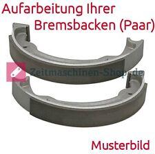 Bremsbacken (Paar) neu geklebt für AWO Sport | Aufarbeitung Ihrer Bremsbacken