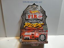 Hot Wheels Fire Rods Albuquerque '56 Ford Panel Truck w/Real Riders