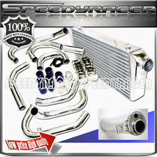 Front Mount Intercooler &Piping Kits 08-11 Subaru Impreza WRX STI Wagon 4-Door