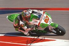 "Bryan staring main signé moto gp 2013 go & fun honda gresini photo 12x8"" f"