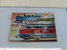 ANCIEN CATALOGUE MARKLIN ECHELLE HO