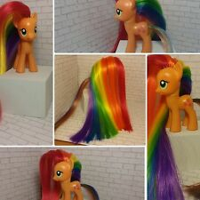 OOAK MY Little Pony Custom Zap Apple AJ. FIM, MLP, Broney, Custom Toy