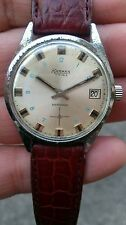 KARMAN WATCH 17 RUBIS ANTICHOC DAY-DATE INOX VINTAGE