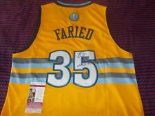 Kenneth Faried signed Nuggets Jersey autographed with COA NBA Authentic