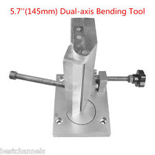 """5.7"""" (145mm) Dual-axis Slot Bender Machine Tool For Metal Channel Letter Bending"""