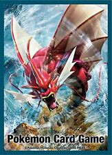 Pokemon XY Break MEGA GYARADOS Character Card Game Sleeves X Y 32pc TCG CCG MTG