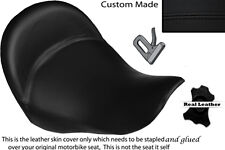 BLACK STITCH CUSTOM FITS BMW K 1200 LT 04-07 FRONT LEATHER SEAT COVER