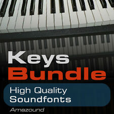 40 PIANOS +64 RHODES +64 HAMMONDS SOUNDFONT BUNDLE 168 SF2 FILES BEST VALUE EVER