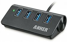 Anker AK-A7507011 USB 3.0 4-Port Compact Aluminum Hub with 2-Foot USB 3.0 Cable