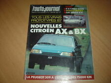 AJ N°10 1986 Civic CRX 1.6i/16.R21 Turbo D.Panda 4x4