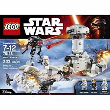 LEGO Star Wars 75138 Hoth Attack Retired Set MSIB incl 3 Minifigs Free UK P+P