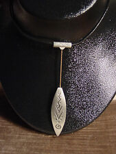 """JJ"" Jonette Jewelry Silver Pewter Indian Motif Pendant 18"" Necklace"